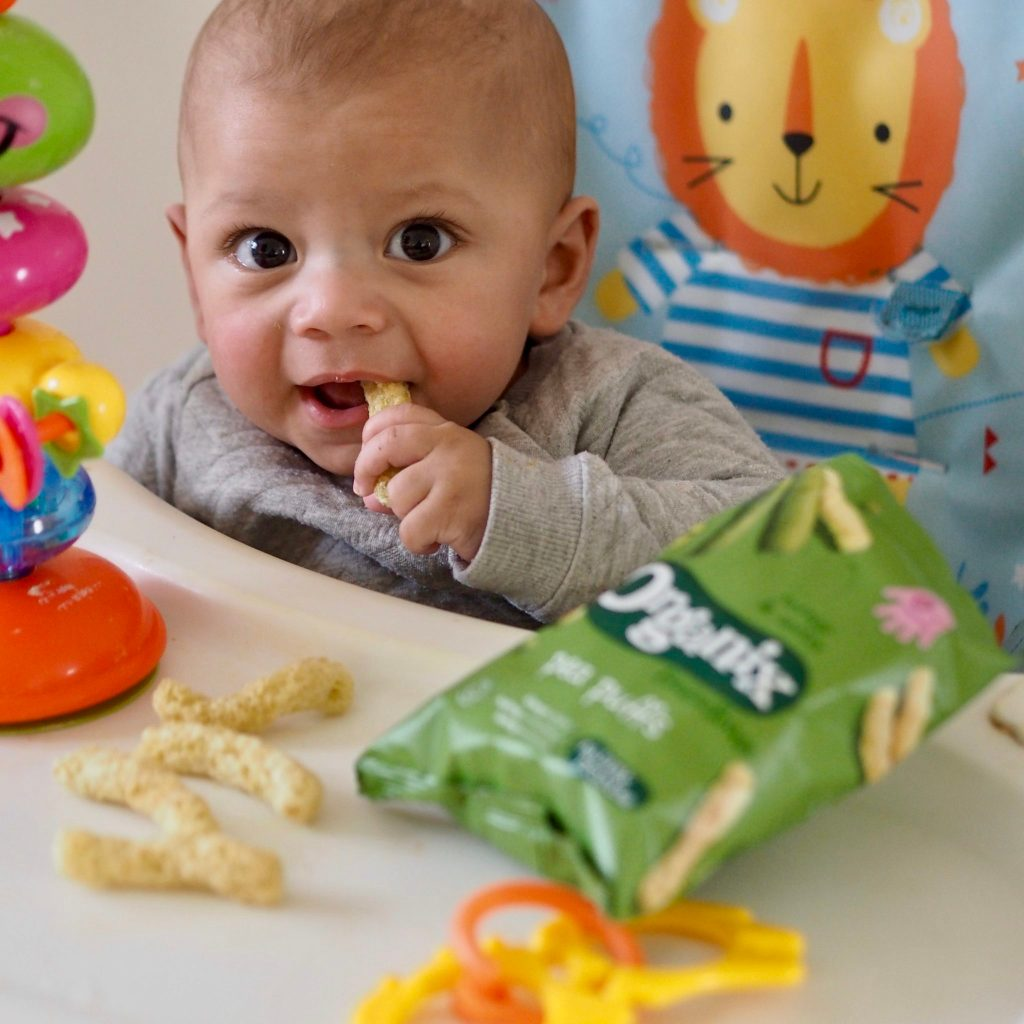 Snacks For Little Ones – Organix Jammie Monsters & Pea Puffs