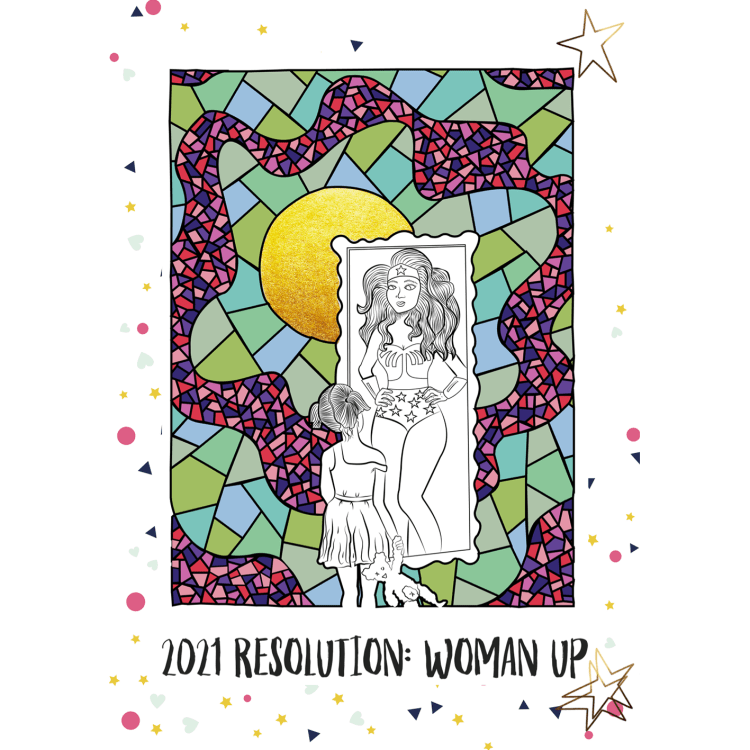 2021 Resolution- woman up