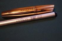 Eyeko eyeliner en Yves Rocher mascara