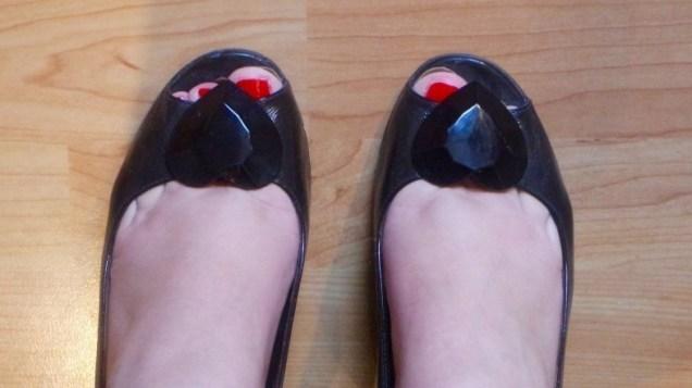 ongemakkelijk@work: open schoenen