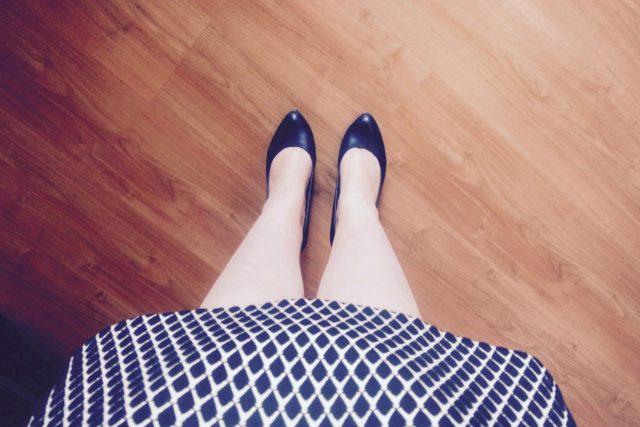 Zakelijke panty etiquette in de zomer