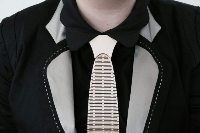 Houten accessoires voor op het werk