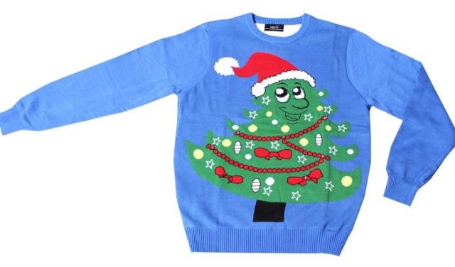 Wie gaat er in een kersttrui naar het werk?