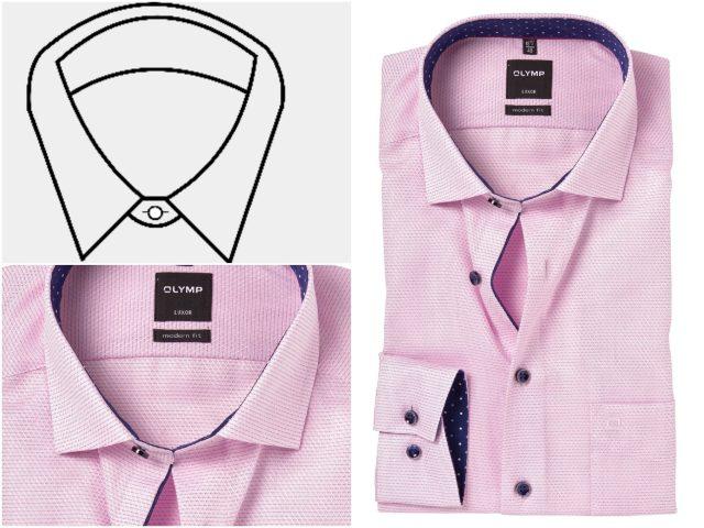 5 verschillende boorden bij overhemden