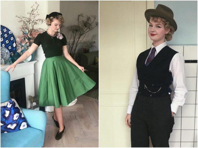 ''Retro kleding kun je heel makkelijk zakelijk dragen''