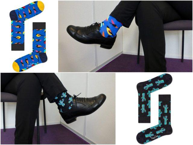 Waarom gekke sokken onder een pak scoren