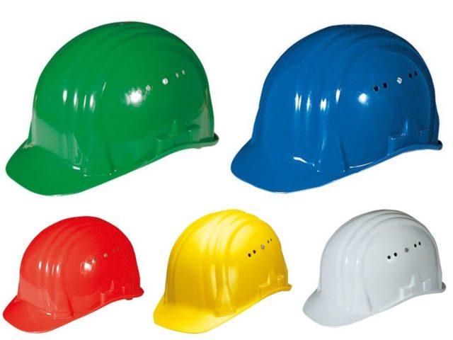 Dit betekenen de gekleurde helmen in de bouw