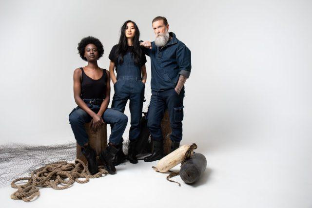 Collectie geïnspireerd door werkkleding Sea Shepherd