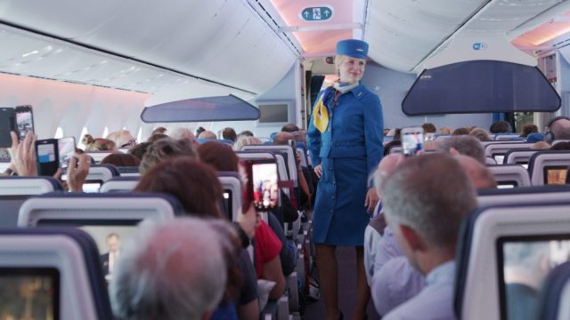Uniform KLM Royal Dutch Airlines 1971 - 1975 | Beeld: KLM