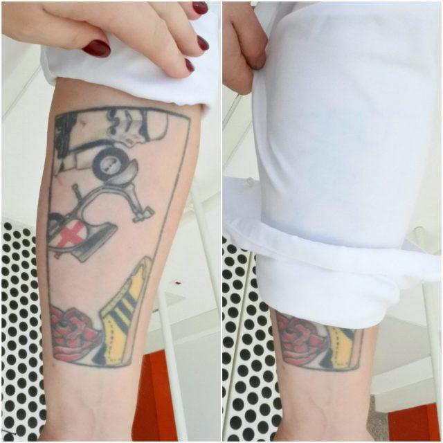 Overhemd dat tatoeages verbergt: werkt het?