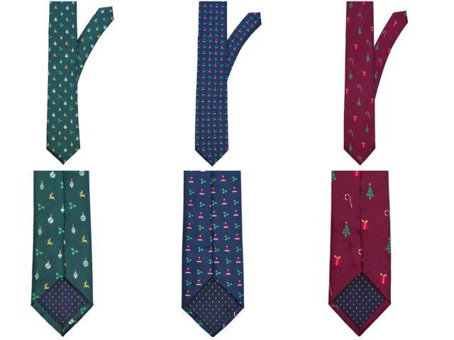 Kerst stropdassen