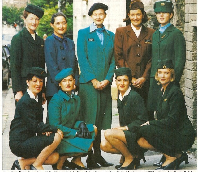 Aer Lingus uniformen