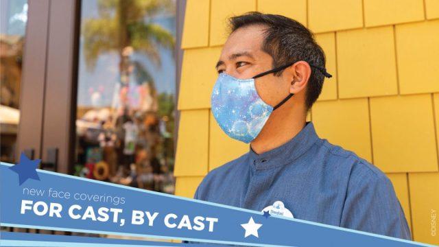 Medewerkers Disney krijgen mondkapje met pixiedust