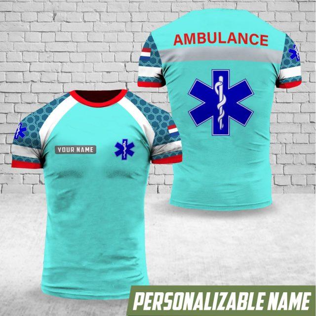Nieuwe ambulancekleding wordt nagemaakt én online verkocht