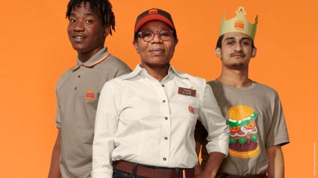 Nieuwe bedrijfskleding voor de medewerkers van Burger King