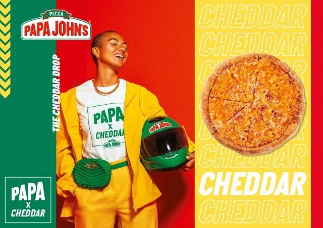 Papa John's X Cheddar: kledinglijn geïnspireerd door pizzabezorgers