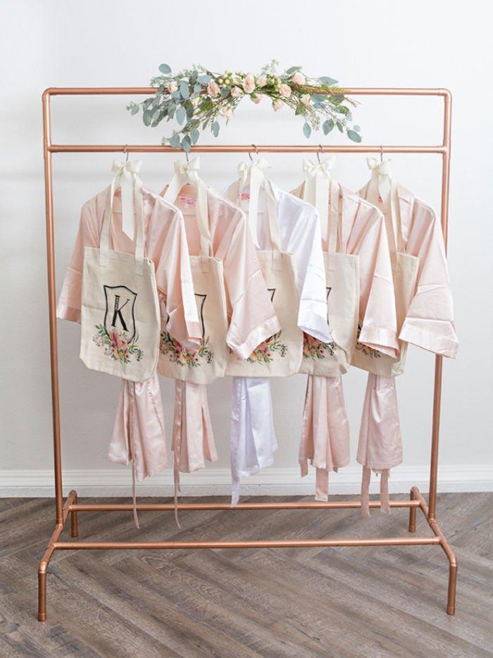 ten beautiful diy clothing racks