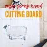 Farmhouse Diy Cutting Board With Graphic