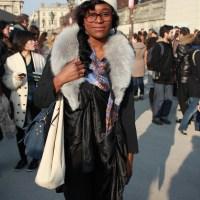 Sonia Rykiel show - Street Style