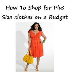 plus size clothes budget