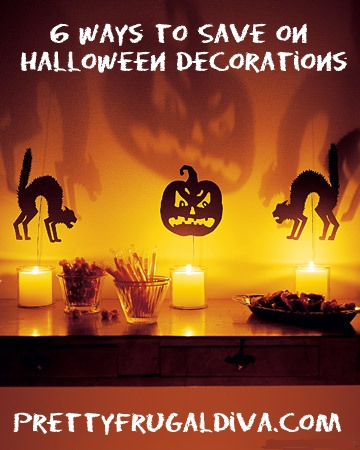 6 Ways to Save on Halloween Decorations