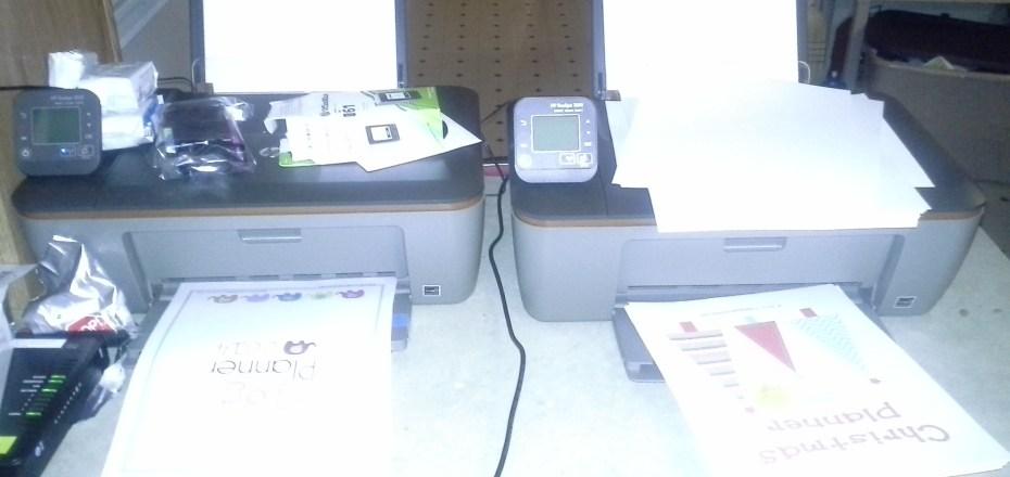 HP Ink Challange 2013 setup
