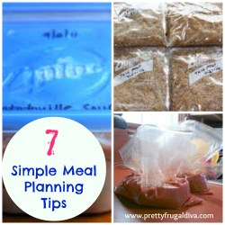 7 simple meal planning