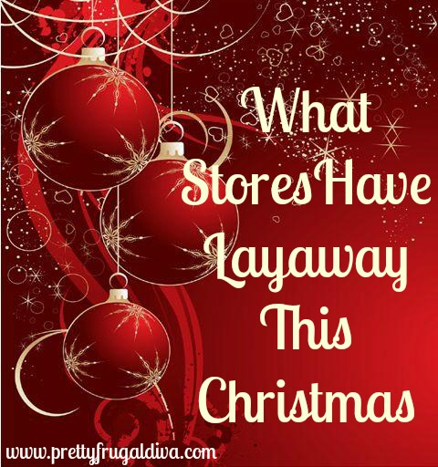 what stores offer layaway