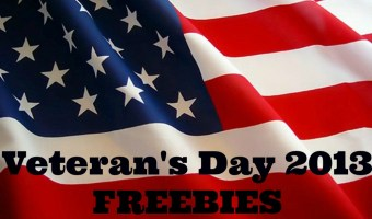 Veteran's Day Freebies 2013