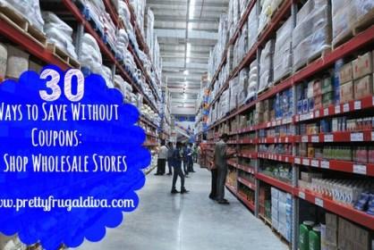 wholesale store