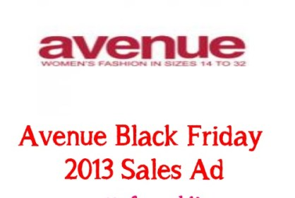 avenue black friday 2013