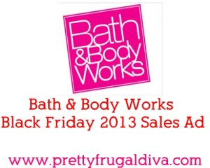 h and body works black friday 2013
