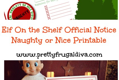 elf on the shelf official notice