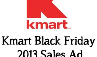 K-mart Black Friday 2013 Sales Ad