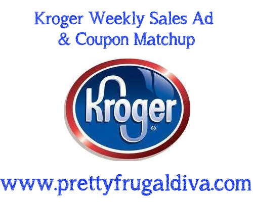 Kroger Weekly 10 for 10 Sales Ad & Coupon Matchups