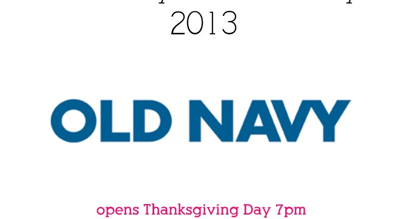 old navy black friday 2013