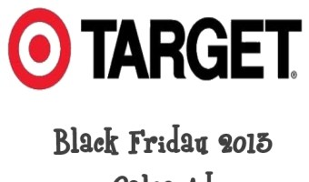 Target Black Friday 2013 Sales Ad