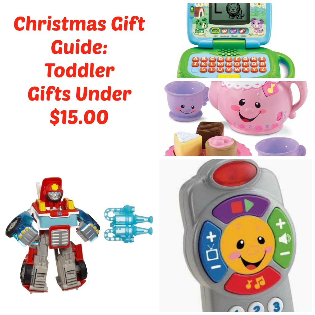 Holiday Gift Guide: Toddler Gifts Under $15.00