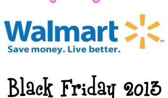 Walmart Black Friday 2013 Sales Ad