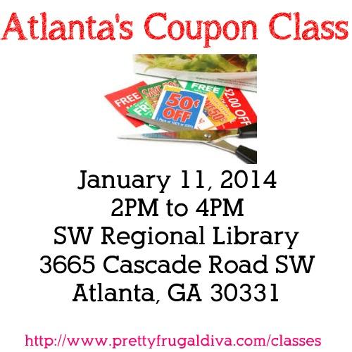 Atlanta's Coupon Class 2014