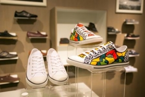 LACOSTE shoes by Ed the Artist