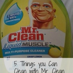 mr clean 5 tips