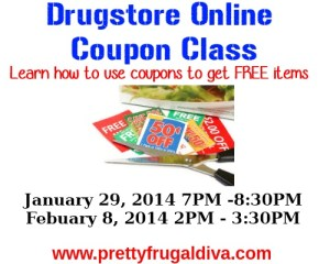 Drugstore Coupon Class