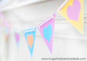 valentine mini banner