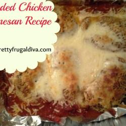 breaded chicken Parmesan recpe