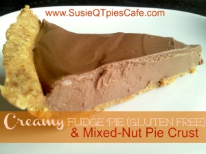 creamy fudge pie gf