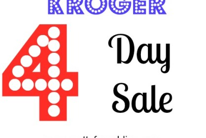 kroger 4 day sale