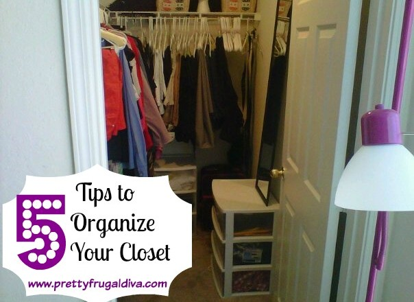 5 tips to organize your closet