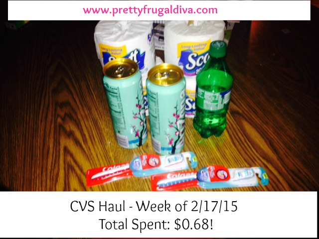 CVS Haul Week of 2/17/15