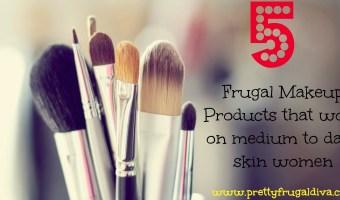 5 frugal makeup products that work on medium to dark skin women